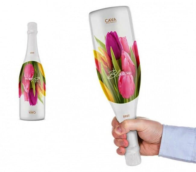 brilliant designers wine bouquet in one