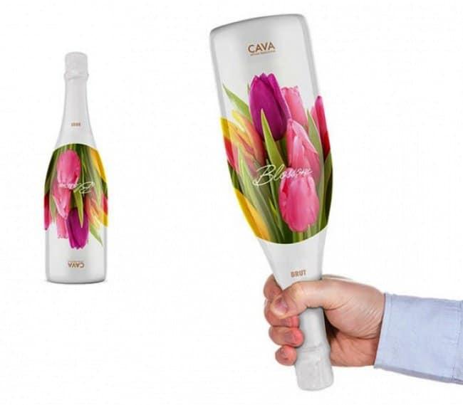 brilliant designers wine bouquet in one