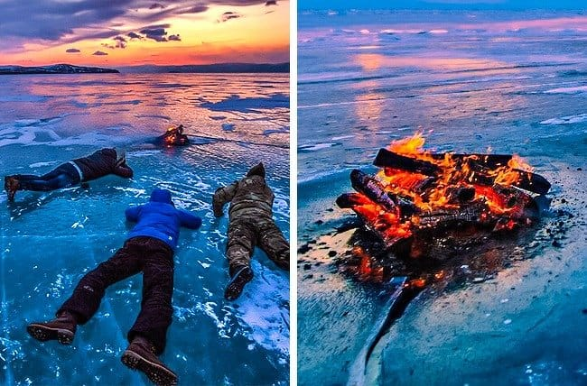 campfire-on-ice-crazy-ways-to-get-a-perfect-photo