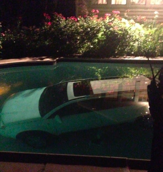 car-submerged-into-a-swimming-pool
