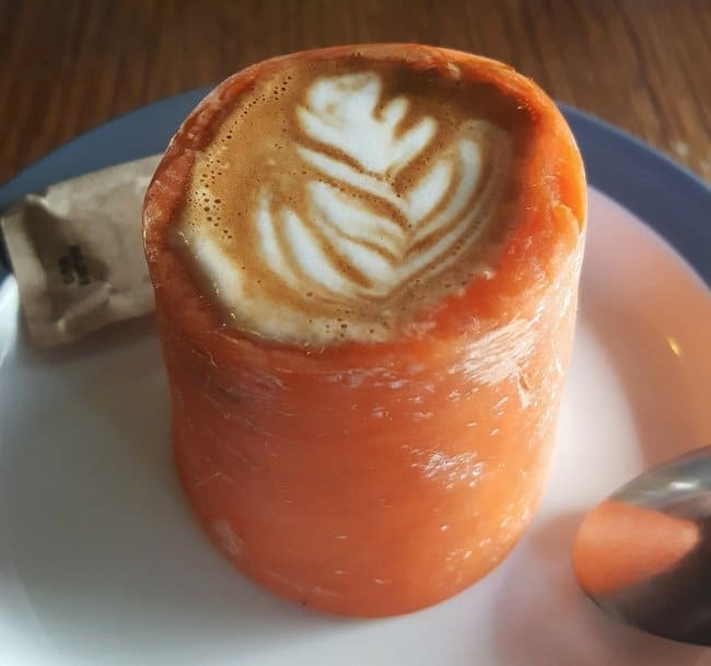 coffee-in-a-carrot
