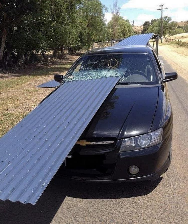 corrugated-steel-through-car-window