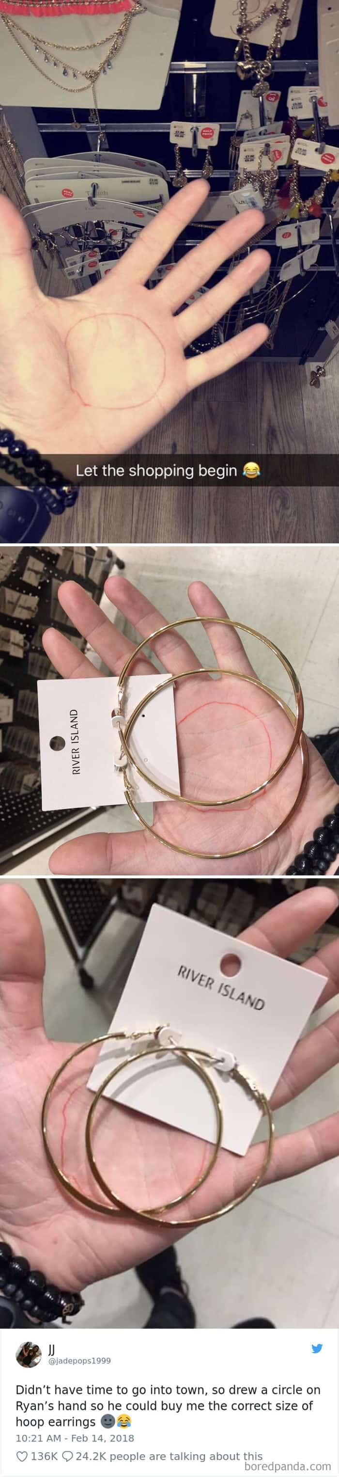 cricle-on-hand-to-determine-earring-size-hilarious-tweets-women