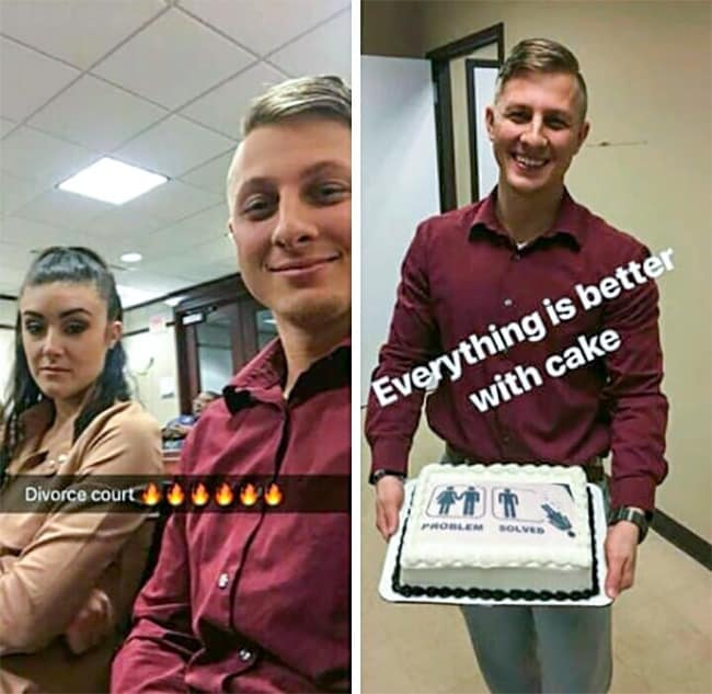 divorce-cake-funny-romantic-gestures