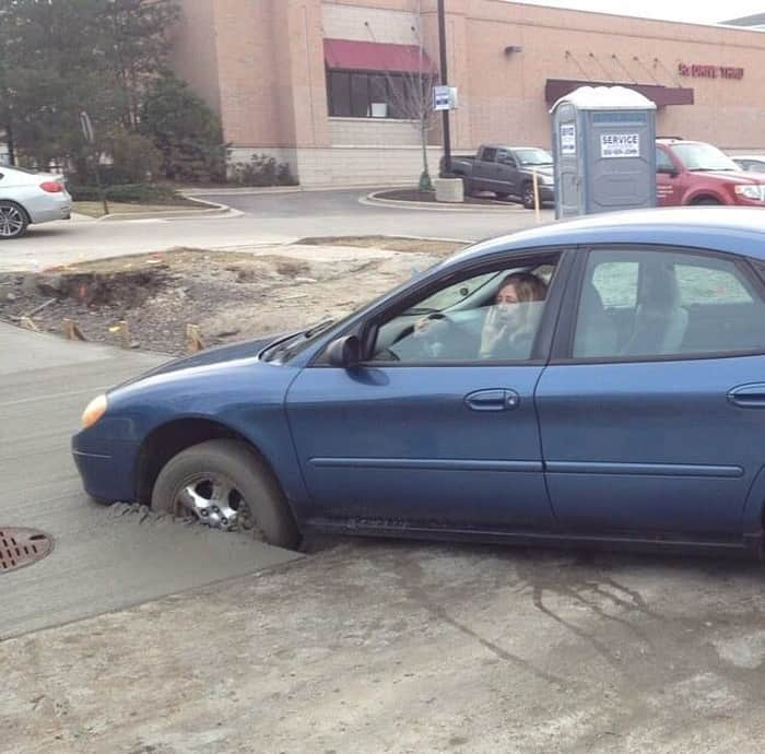 driving-on-a-wet-cement-cringeworthy-photos