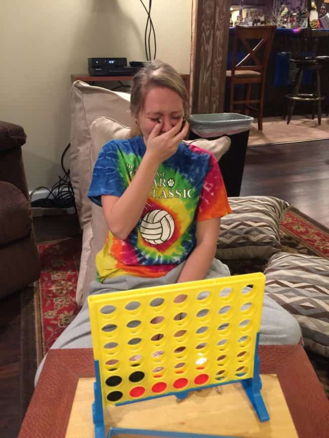 drunk-girl-crying-for-losing-in-connect-four-game