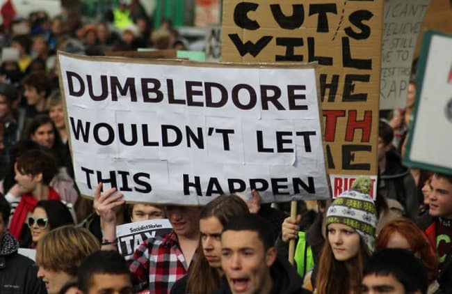 dumbledore-would-not-let-this-happen-hilarious-protest-signs