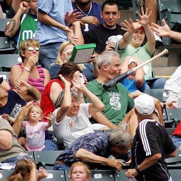 flying-baseball-bat-hits-onlooker-worst-day-of-their-life