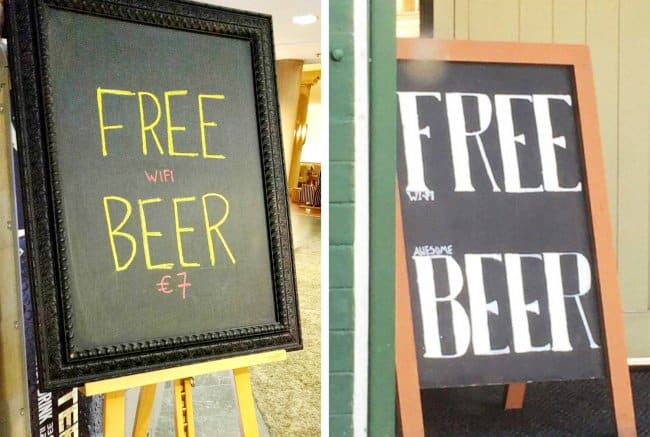 free-beer-tricky-sign-brilliant-designers