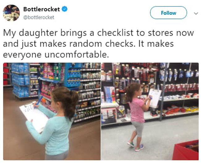 girl-brings-checklist-to-stores-witty-people