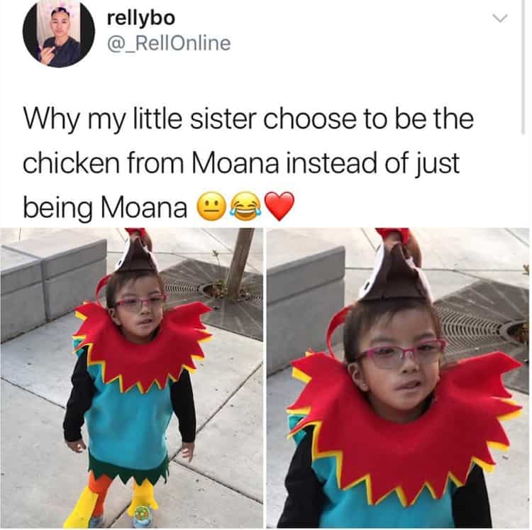 girl-choose-to-be-heihei-rather-than-moana-funny-kids