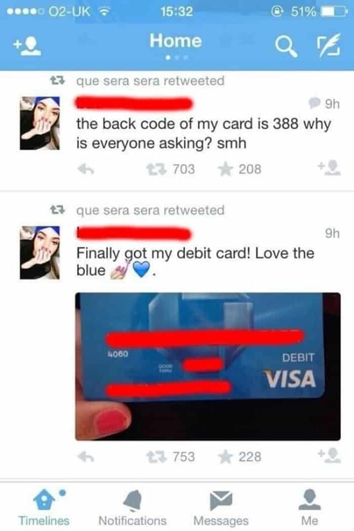 girl-discloses-debit-card-details-cringeworthy-photos