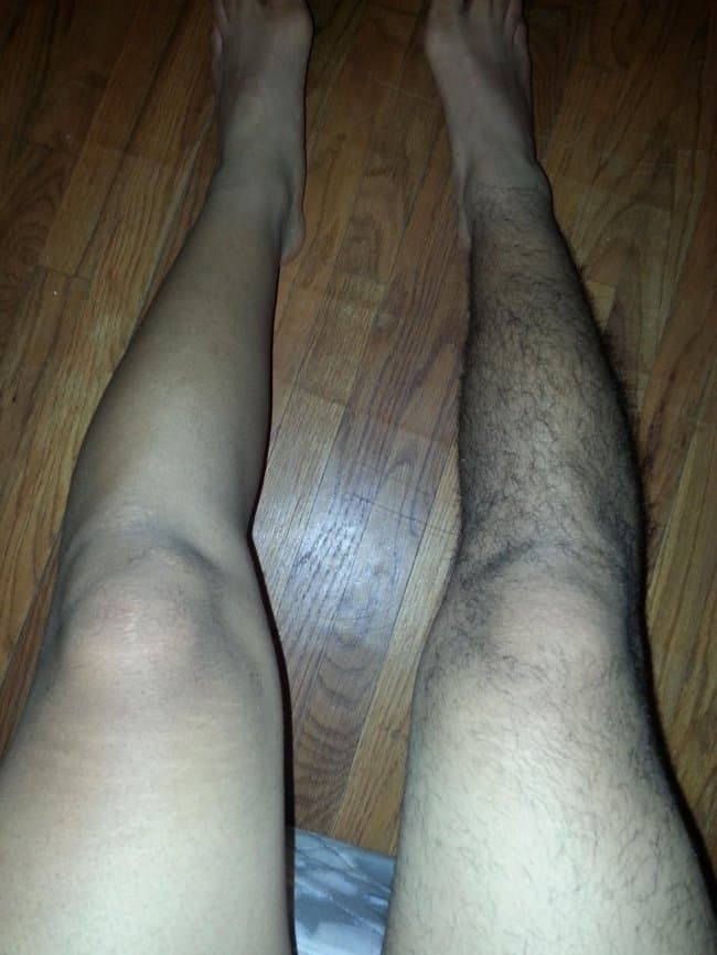 half-shaved-legs-of-a-man