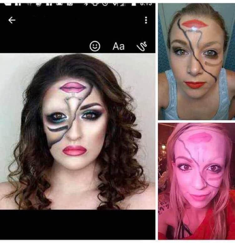 halloween-makeup-expectation-vs-reality-beauty-fails
