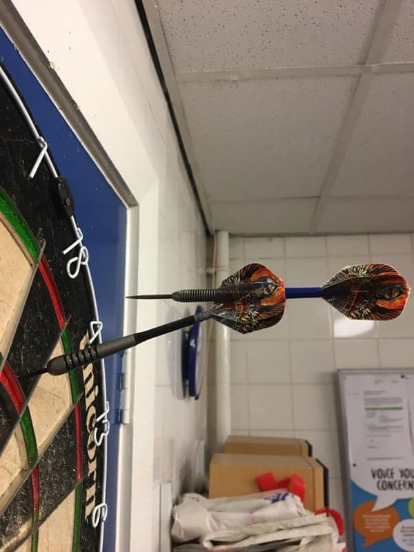 hitting-your-own-dart-unfortunate-people