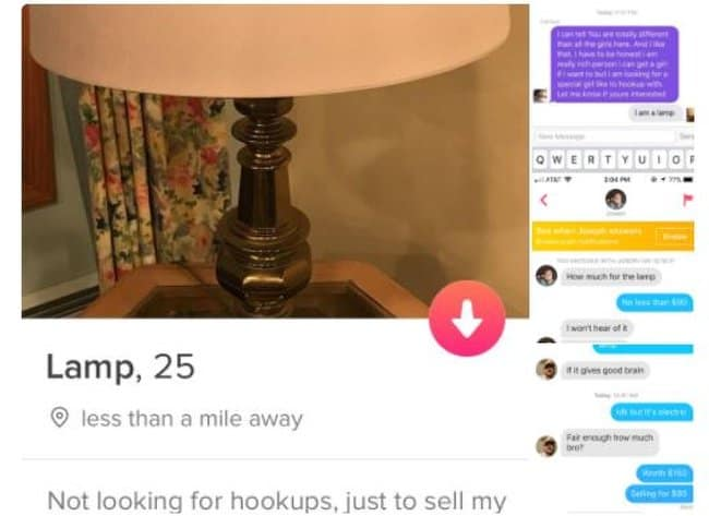 lamp-for-sale-on-dating-site-humor-boosts-creativity