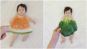 mom-dresses-up-baby-in-food-outfits-for-2-weeks-and-its-adorable
