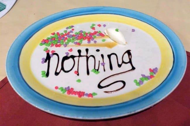 nothing-dessert