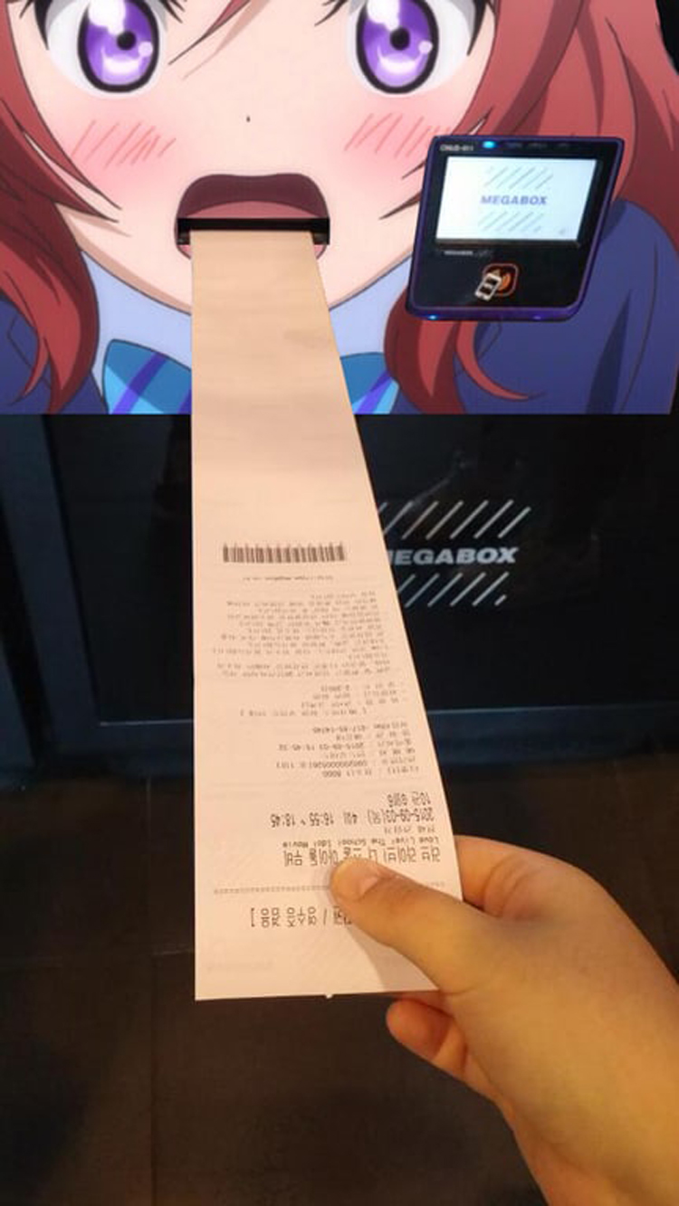 receipt-comes-out-from-an-anime-mouth-humans-weirdest-creatures