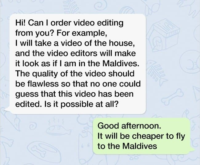 request-for-a-video-editing-service-barefaced-lies