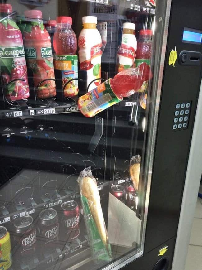 sandwich-and-drinks-stuck-in-vending-maching-worst-unforgettable-day