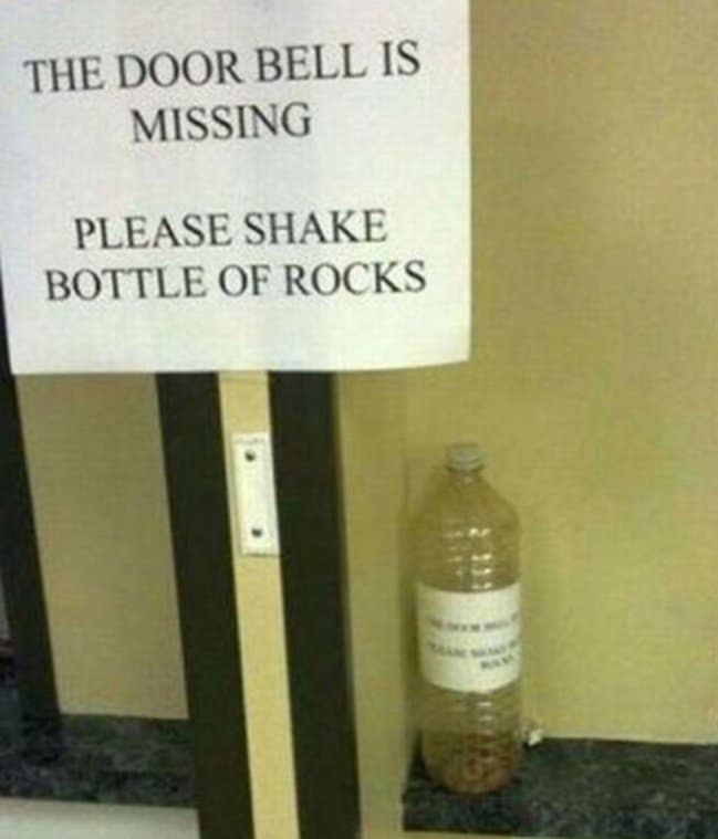shake-bottle-of-rocks-for-doorbell-imagination-knows-no-limit