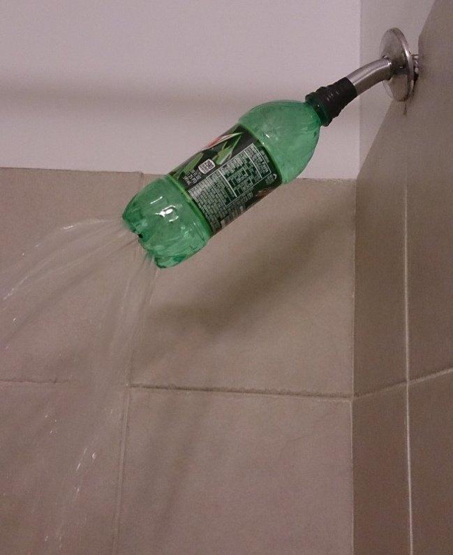 shower-plastic-bottle-imagination-knows-no-limit