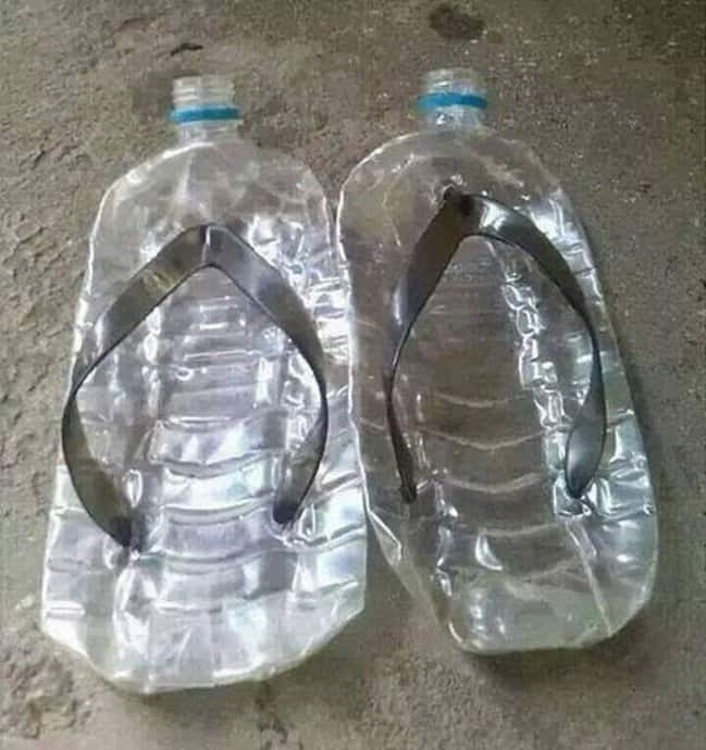 slipper-made-from=plastic-bottles-imagination-knows-no-limit