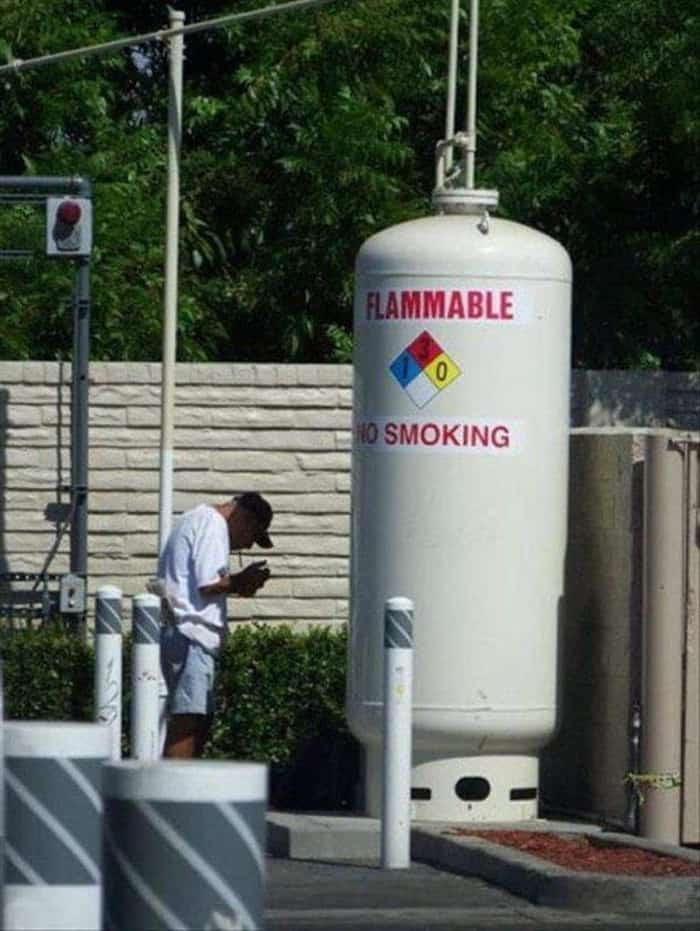 smoking-near-a-flammable-gas-tank-audacious-workers