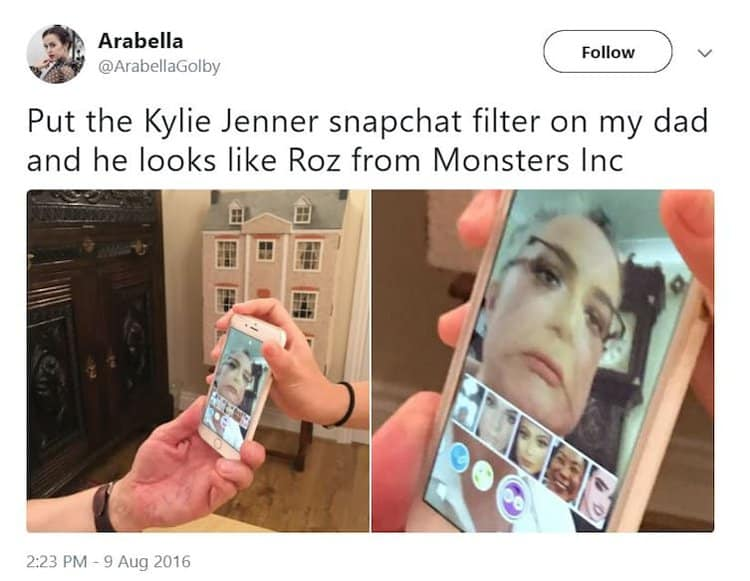 snapchat-filter-roz-monster-inc-hilarious-pixar-jokes