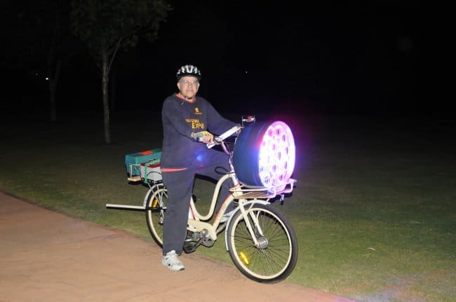 stage-light-on-bike-funny-inventions
