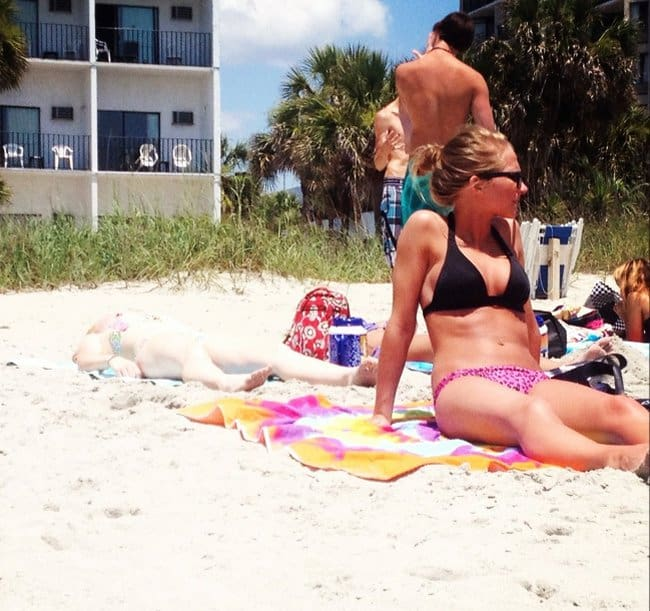 sunbathing-girl-almost-invisible-pale-people-problems