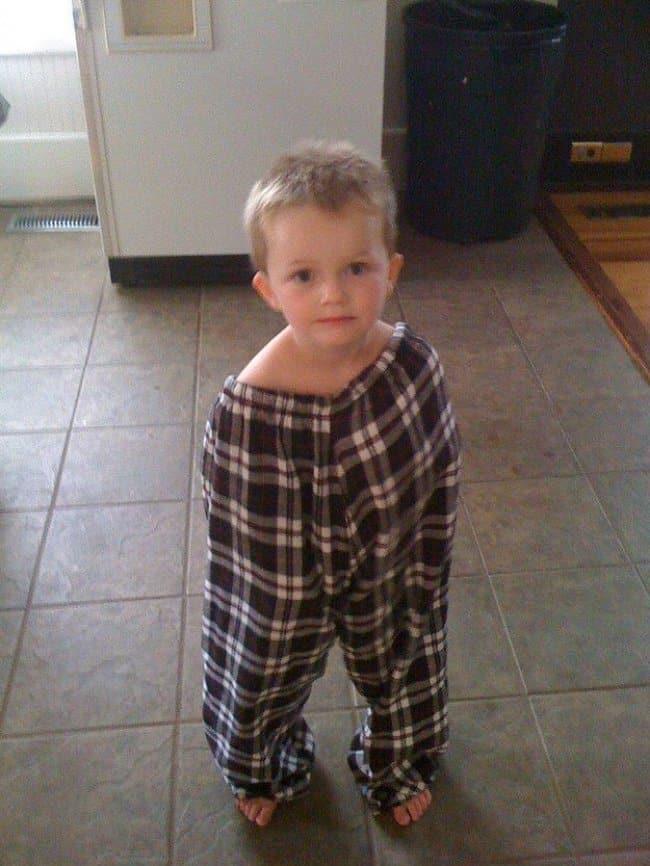 wearing-pajamas-funniest-things-kids-do