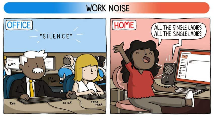 work-noise-home-based-job-vs-office-based-job