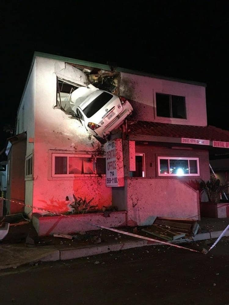 car-crashing-second-floor-house-baffling-situations