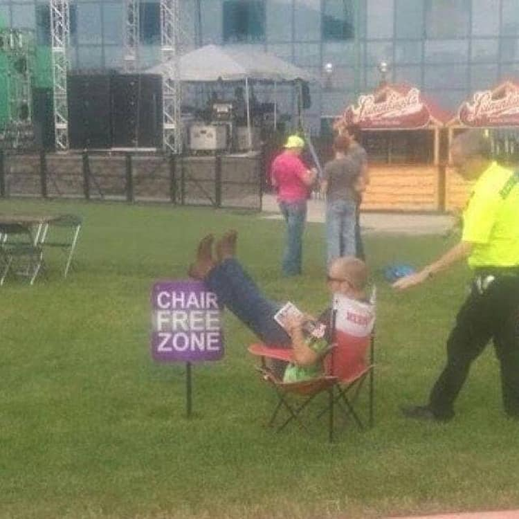 chair-free-zone-people-breaking-rules
