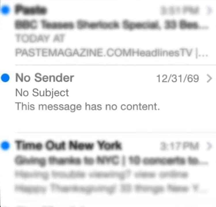 empty email from the future rare photos