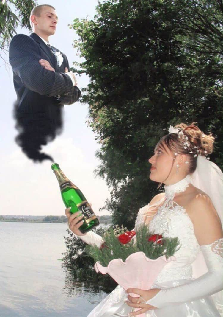 genie-in-the-bottle-groom-funny-russian-wedding-photos