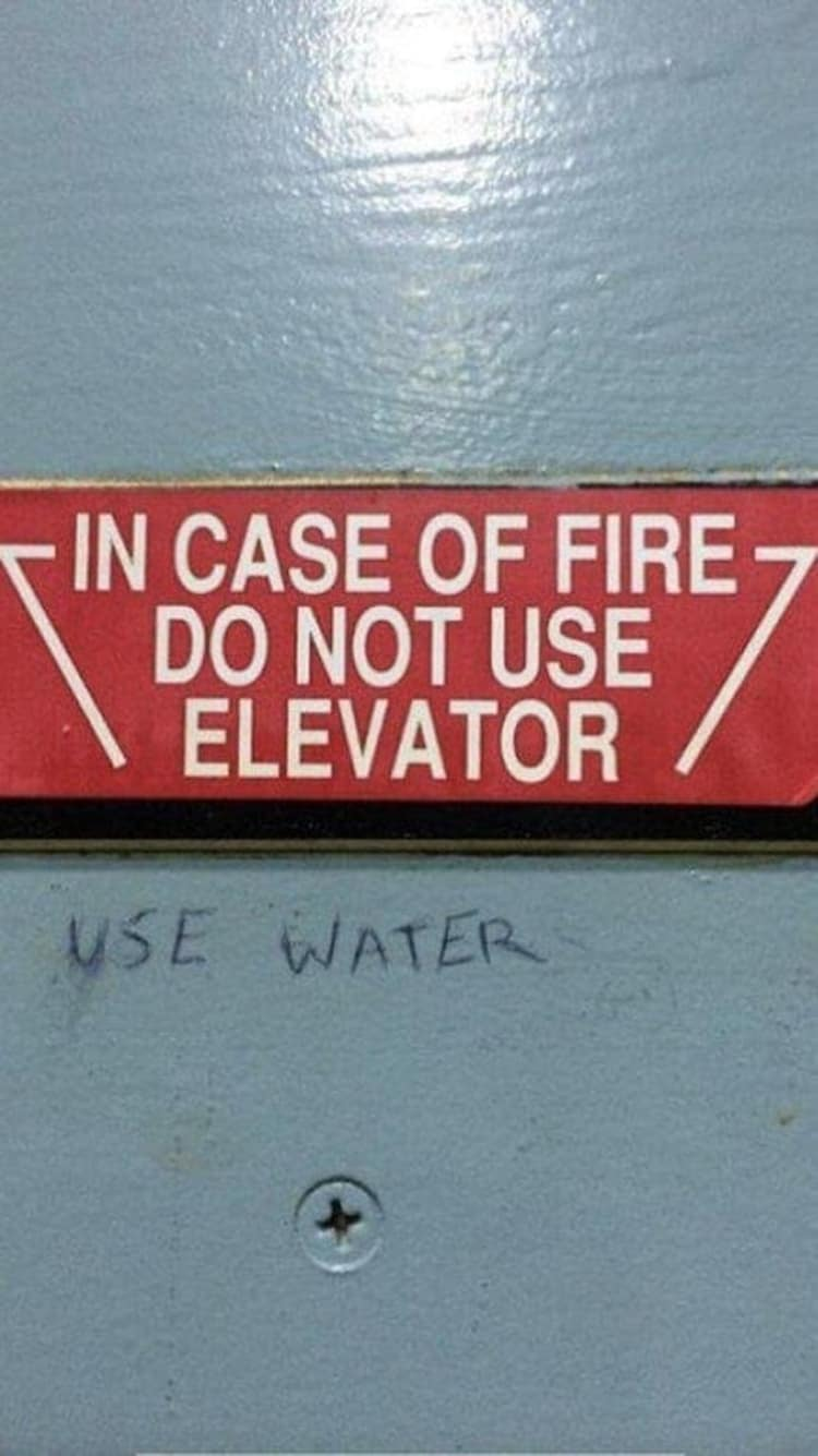 in-case-of-fire-funny-random-pics