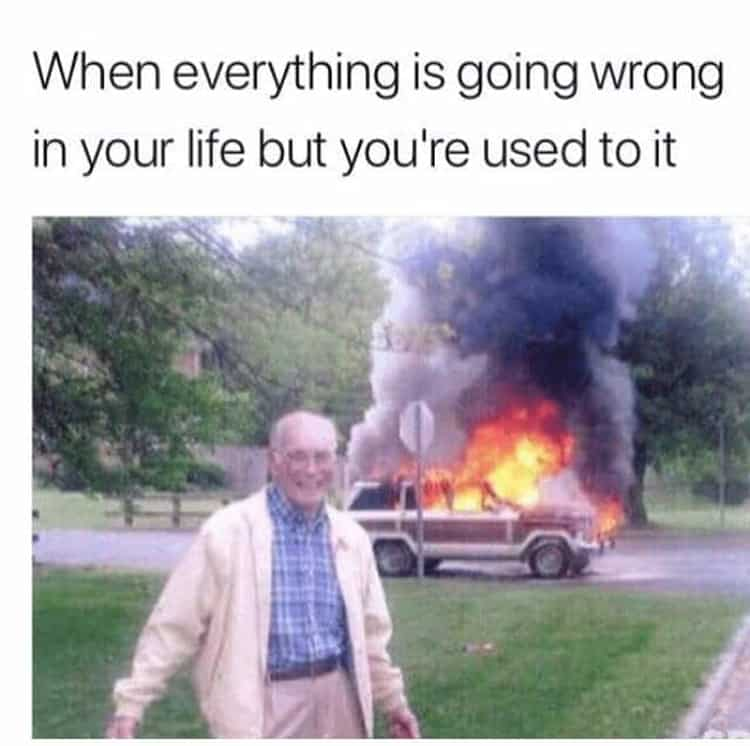 old-man-smiles-while-car-is-on-fire-attention-grabbers