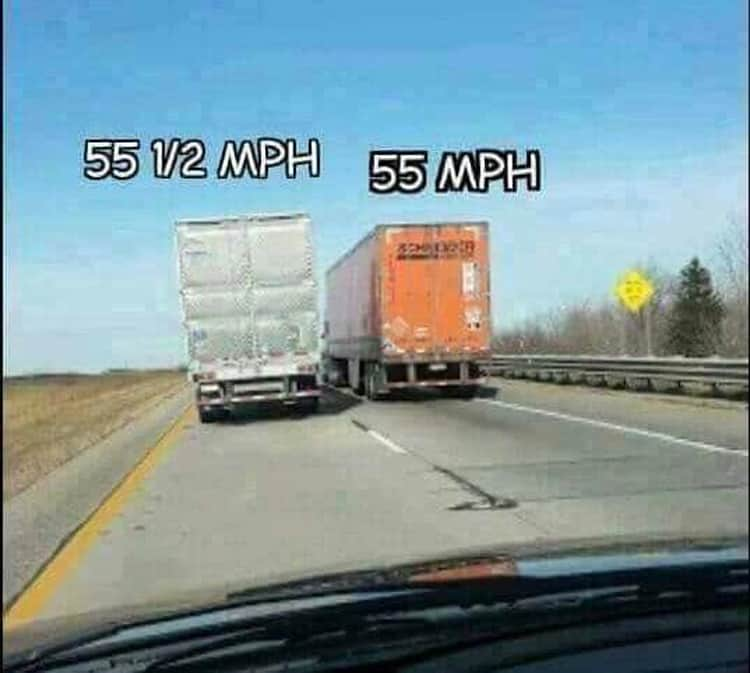 passing-through-two-trucks-is-impossible-annoying-pics