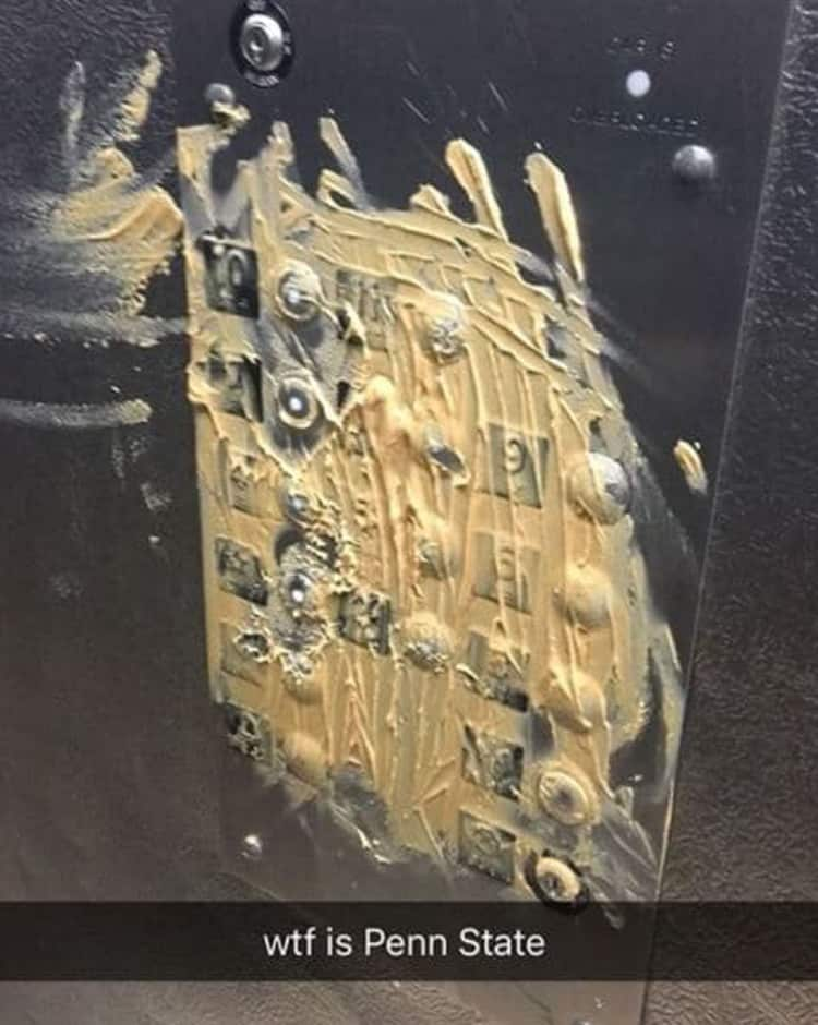 peanut-butter-smeared-on-elevator-button-outrageous-photos