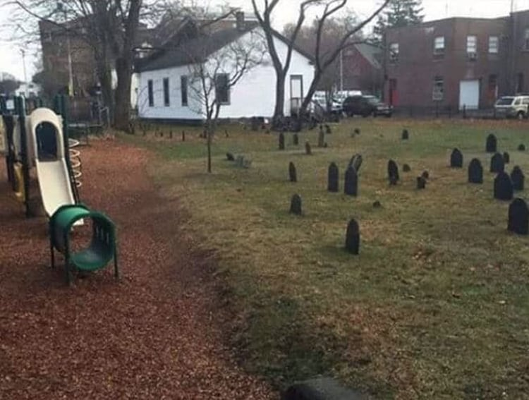 playground-near-the-graveyard-creepy-pictures
