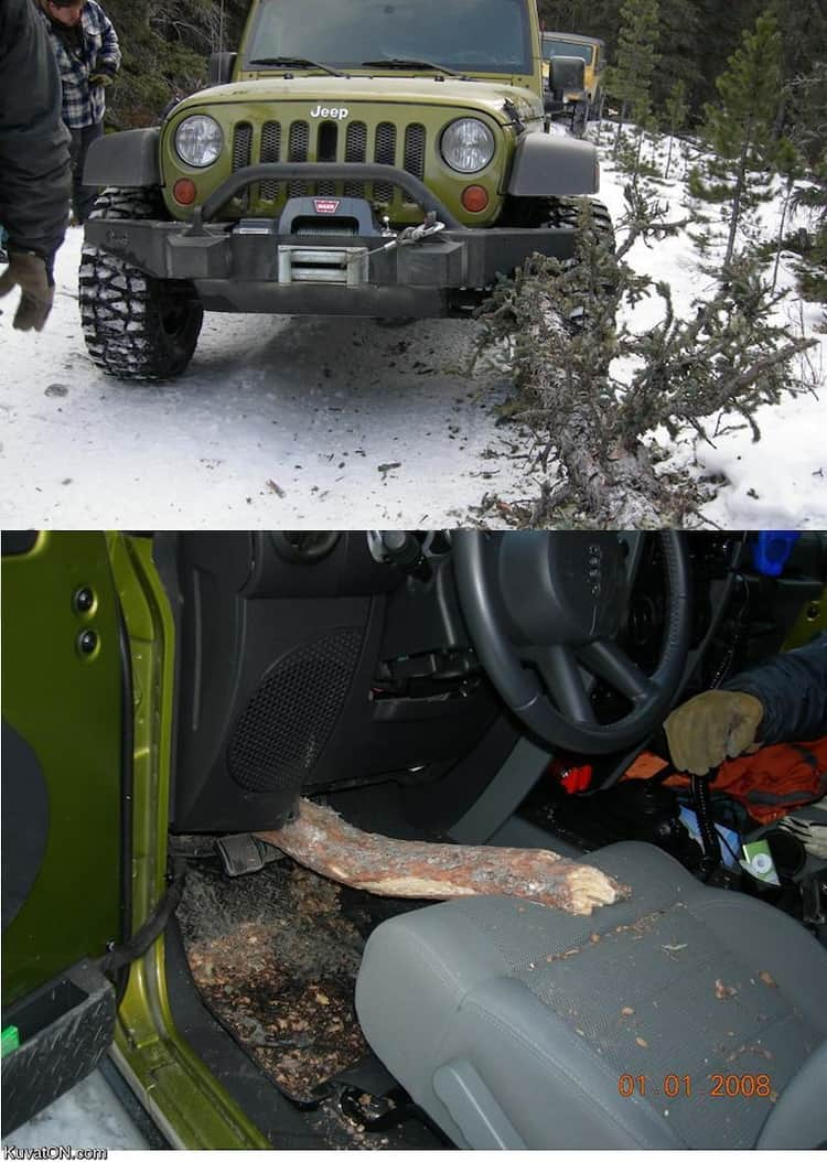 sharp-tree-trunk-stabbing-a-jeep-craziest-close-calls