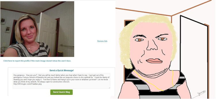 sketching-pictures-of-women-on-dating-sites-silly-things-bored-people-do