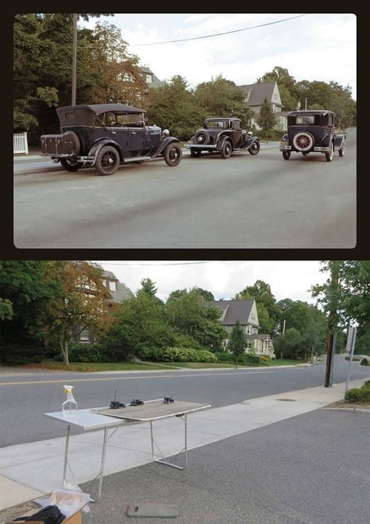vintage-cars-on-a-modern-road-photoshop-coolest-things