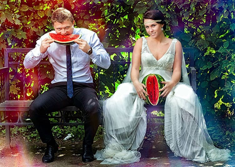 watermelon-funny-russian-wedding-photos