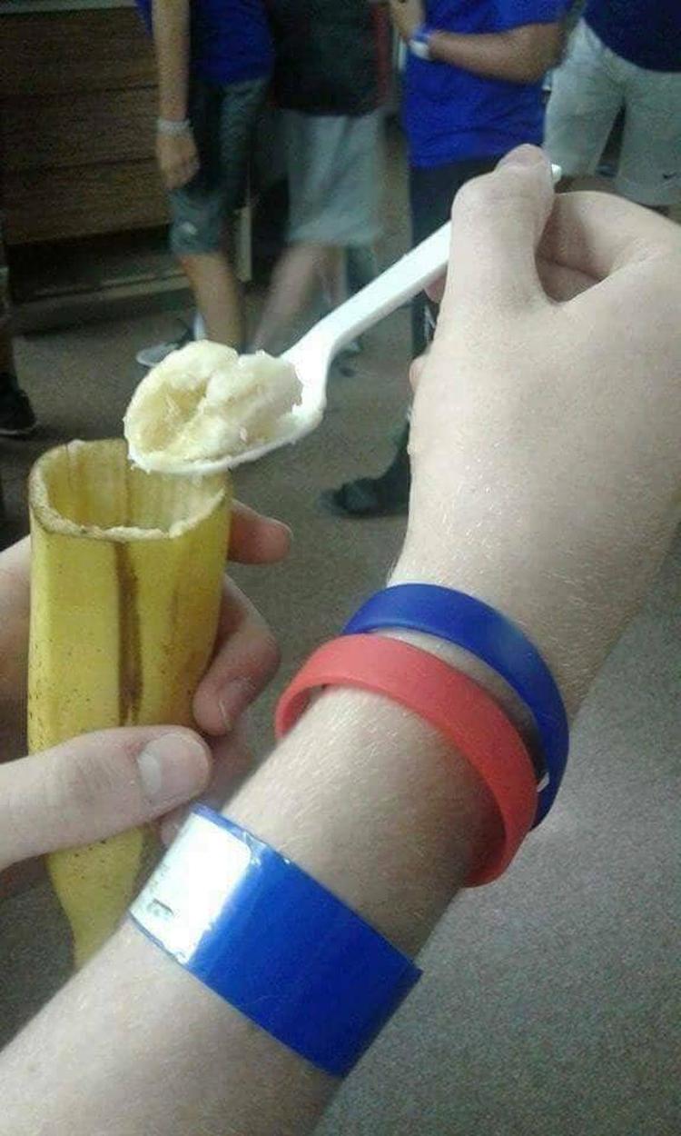 banana spoon outrageous photos