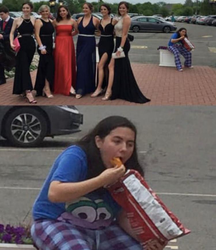 girl-eating-junk-foods-hilarious-prom-photos