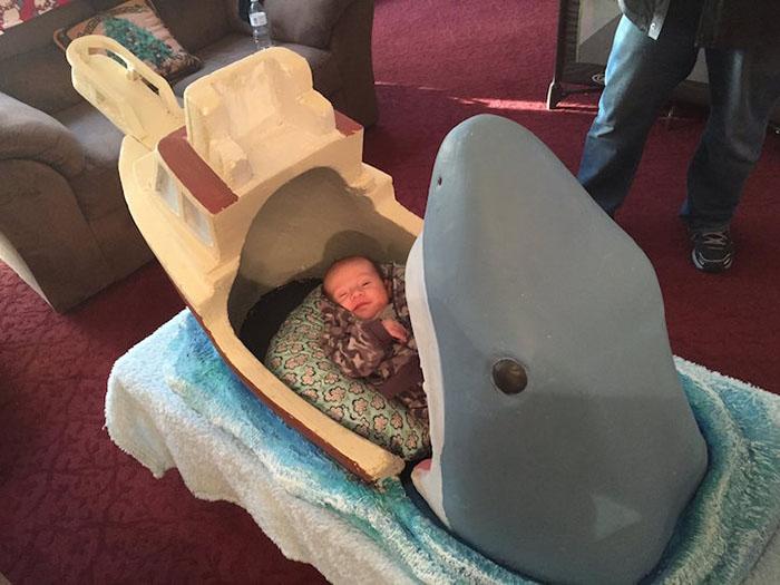 baby shark bed baby sleeping